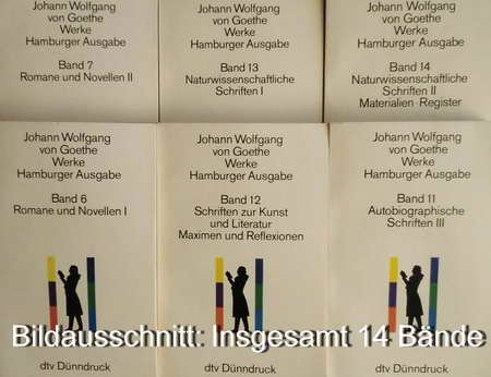 9783423059862: Werke. Hamburger Ausgabe