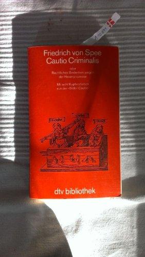 Cautio Criminalis (4971 167).: Spee von Langenfeld,