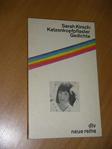 9783423063203 Katzenkopfpflaster Gedichte Abebooks