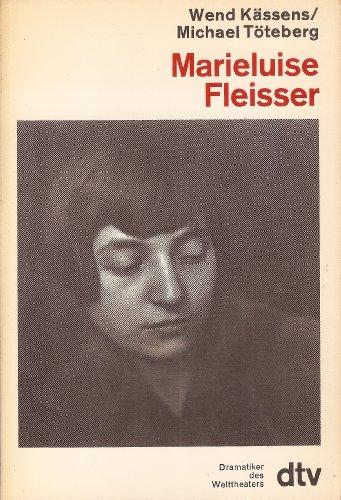 9783423068734: Marieluise Fleisser (Dramatiker des Welttheaters) (German Edition)