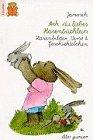 9783423075183: Ach, du liebes Hasenbüchlein. Hasenbilder, Verse und Geschichtelchen