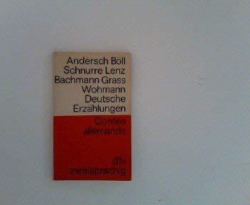 9783423091091: Deutsche Erza?hlungen =Contes Allemands