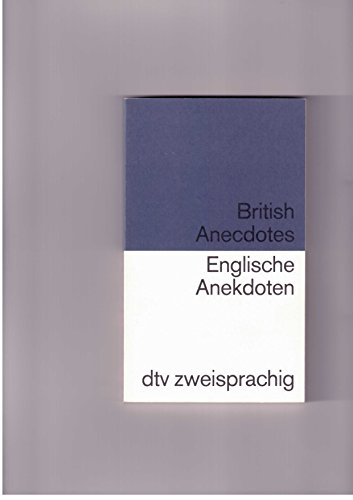 9783423092913: Englische Anekdoten; British Anecdotes