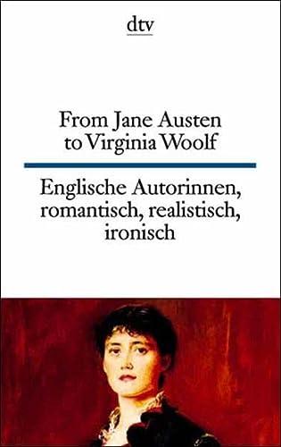 From Jane Austen to Virginia Woolf - Andrea Ott