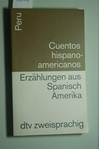 9783423093385: Cuentos hispanoamericanos: Peru /Erzählungen aus Spanisch Amerika: Peru