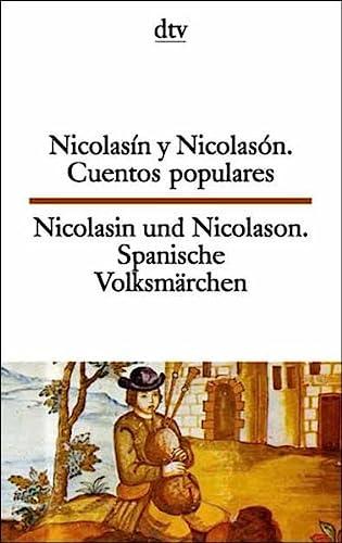 9783423093828: Nicolasin und Nicolason - Nicolasin y Nicolason