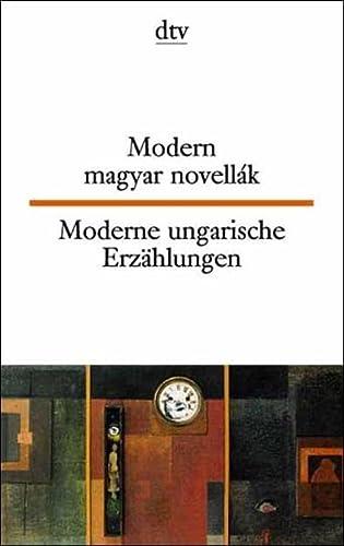 9783423093866: Moderne ungarische Erzählungen / Modern magyar novellak.