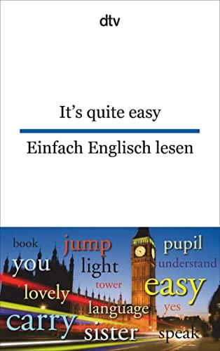 9783423094801: It's Quite Easy - Einfach Englisch Lesen