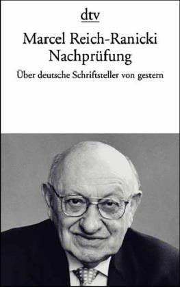 9783423102261: Nachprüfung. Aufsätze über deutsche Schriftsteller von gestern