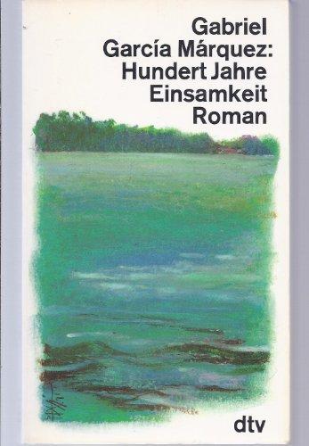 9783423102490: Hundert Jahre Einsamkeit (German Edition)