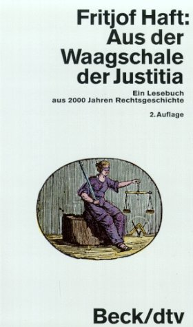 9783423106368: Aus der Waagschale der Justitia