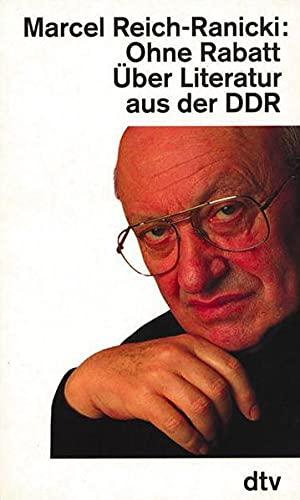 9783423117449: Reich-Ranicki, M: Ohne Rabatt