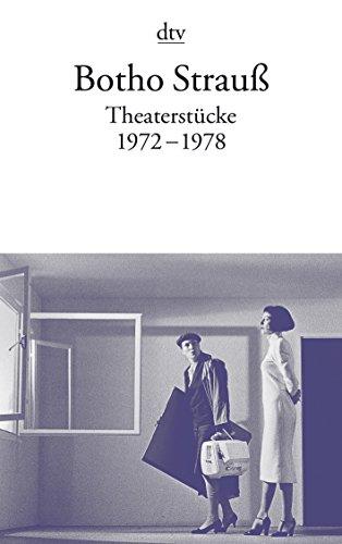 9783423117470: Theaterstücke I: 1972 - 1978