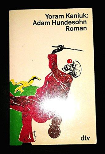 9783423117975: Adam Hundesohn. Roman