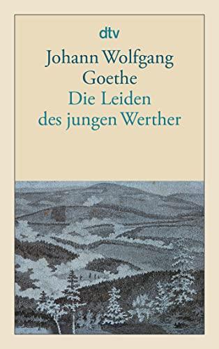 9783423124010: Die Leiden des jungen Werther: (Hamburger Ausgabe)