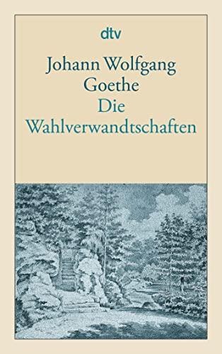 9783423124034: Die Wahlverwandschaften (German Edition)