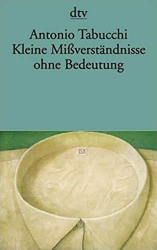9783423125024: Kleine Mißverständnisse ohne Bedeutung. Erzählungen.