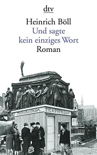 9783423125314: Und Sagte Kein Einziges Wort (German Edition)