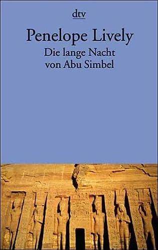 9783423125680: Die lange Nacht von Abu Simbel