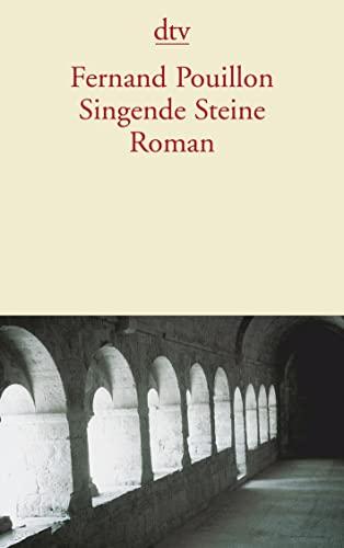 9783423126854: Singende Steine.