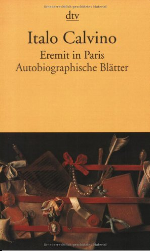Beispielbild für Eremit in Paris: Autobiographische Blätter zum Verkauf von medimops