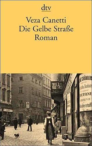 9783423128315: Die Gelbe Straße. Roman.