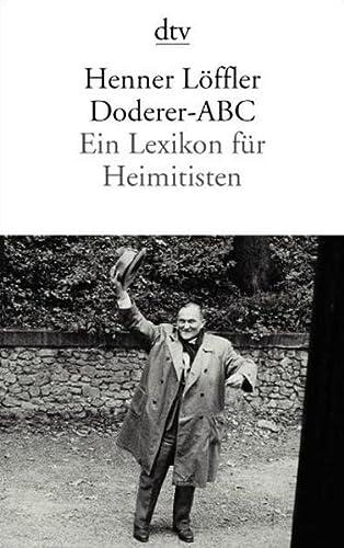 9783423129329: Doderer-ABC.