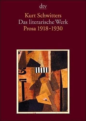 Das literarische Werk 2 (3423133228) by Kurt Schwitters