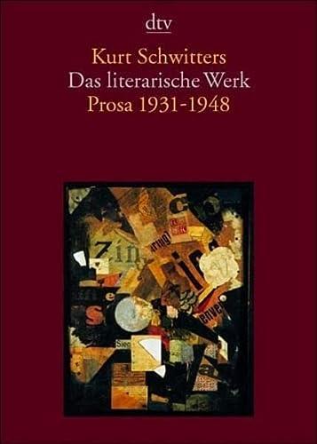 9783423133234: Das literarische Werk - Prosa 1931 bis 1948