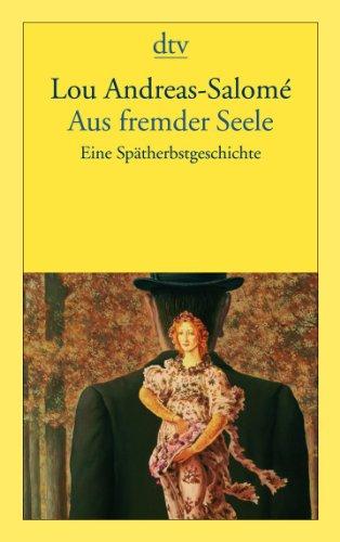 9783423135962: Aus fremder Seele: Eine Spätherbstgeschichte