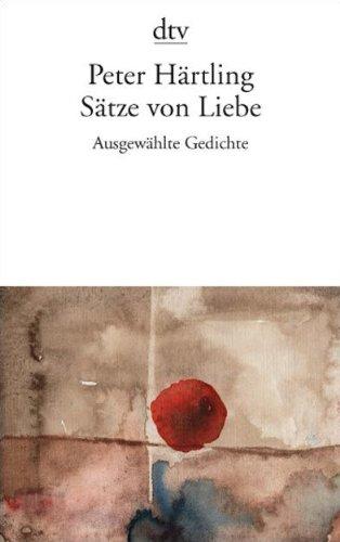 9783423136921: Sätze von Liebe: Ausgewählte Gedichte