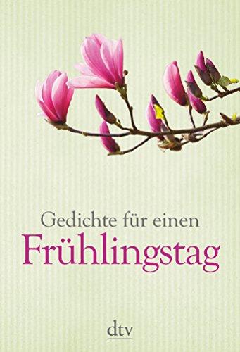 9783423143837: Gedichte für einen Frühlingstag
