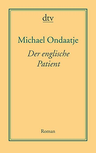 9783423191128: Der Englische Patient (German Edition)