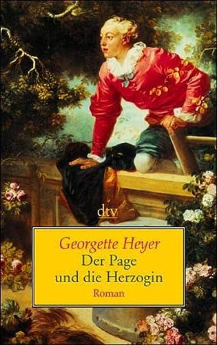 Der Page und die Herzogin. Roman. (9783423205535) by Heyer, Georgette