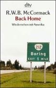 9783423207416: Back Home. by McCormack, R.W.B
