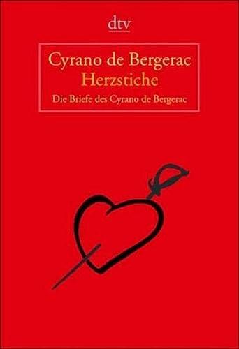Herzstiche (9783423208192) by Cyrano de Bergerac