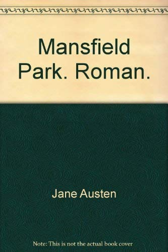 9783423240239: Mansfield Park. Roman