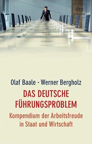 9783423244800: Das deutsche Führungsproblem