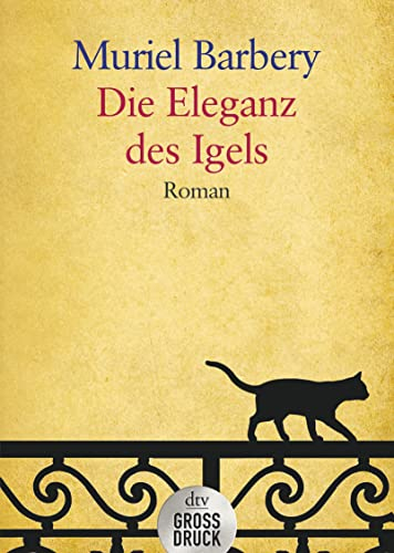9783423253130: Die Eleganz des Igels: Roman