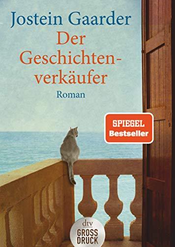 Der Geschichtenverkäufer. Großdruck: Jostein Gaarder