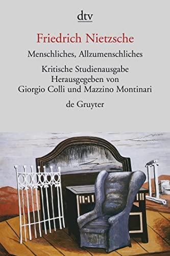 9783423301527: Menschliches, Allzumenschliches, I und II. Herausgegeben von G. Colli und M. Montinari.
