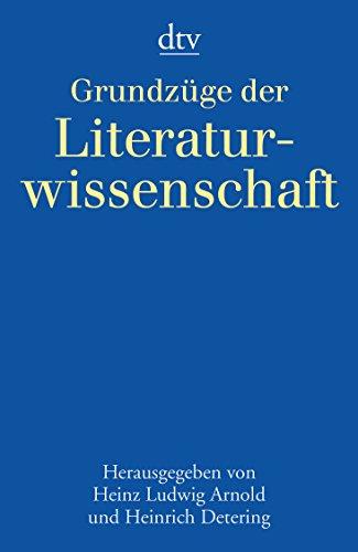9783423301718: Grundzüge der Literaturwissenschaft.