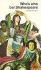 Who's who bei Shakespeare. gekürzte Ausgabe.: Vollmann, Rolf