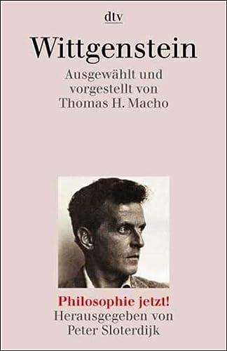Wittgenstein. Philosophie jetzt. (3423306939) by Wittgenstein, Ludwig; Macho, Thomas H.; Sloterdijk, Peter