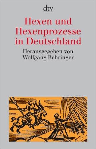 9783423307819: Hexen und Hexenprozesse in Deutschland