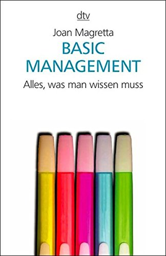9783423340649: Basic Management.