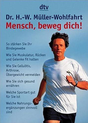 9783423340939: Mensch, beweg Dich!