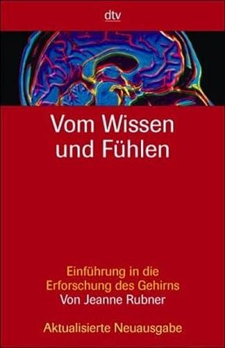9783423341202: Vom Wissen und Fühlen.