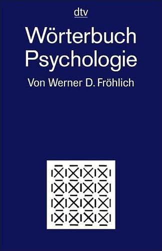 9783423342315: dtv - Wörterbuch Psychologie