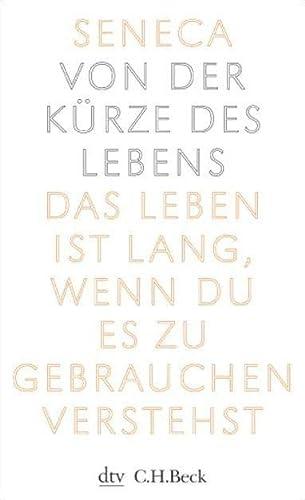9783423342513: Von Der Kurze DES Lebens